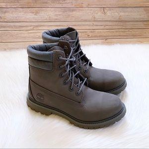 "Timberland Grey Waterville 6"" Waterproof Boots"